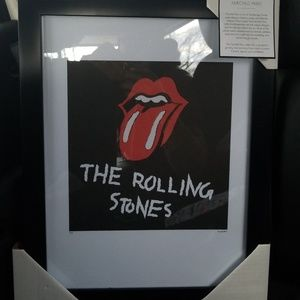 Brand New Fairchild Paris Rolling Stones Art